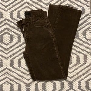 Vintage fit and flare corduroy pants